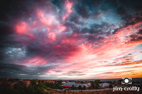 Sunset Sky Over Albuquerque by Jim Crotty 1