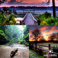 Go Calmly Photograph Montage by Ohio Photographer Jim Crotty