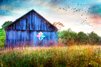 Digital Art Photography | September Barn by Jim Crotty
