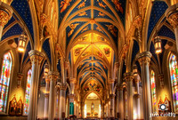 The Basilica at Notre Dame by Jim Crotty