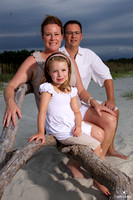 Family Portrait Photography on the Beach