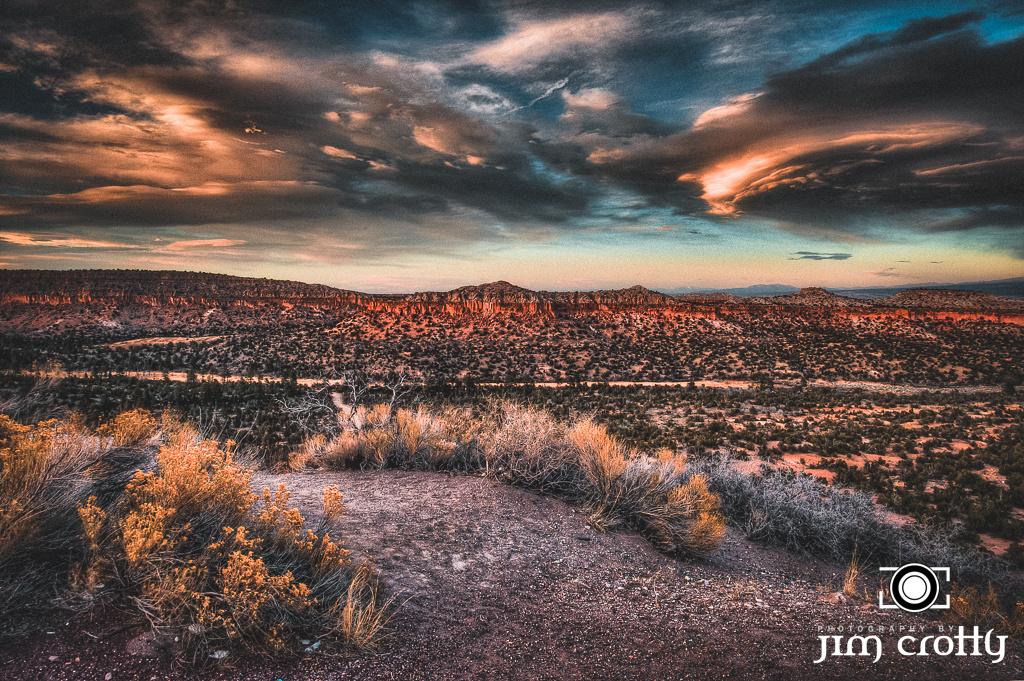 Under a Desert Sky by Jim Crotty